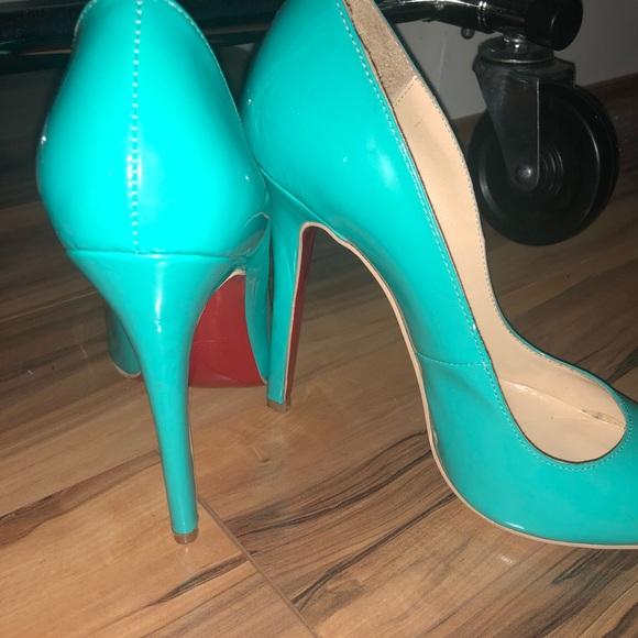 14e145e8a23 Christian Louboutin Shoes - Tiffany Blue Christian Louboutin Heels